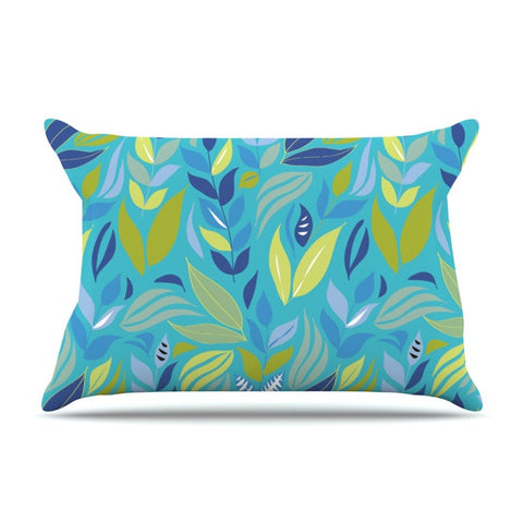 "Michelle Drew ""Underwater Bouquet"" Pillow Sham - KESS InHouse"