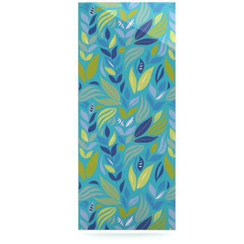 "Michelle Drew ""Underwater Bouquet"" Luxe Rectangle Panel - KESS InHouse  - 1"