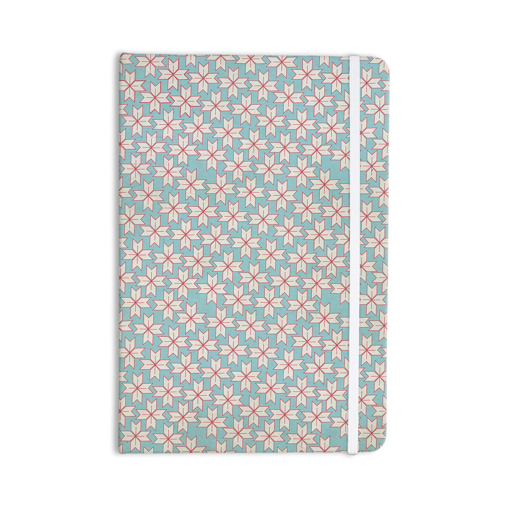 "Michelle Drew ""Vintage Christmas"" Red Blue Everything Notebook - KESS InHouse  - 1"