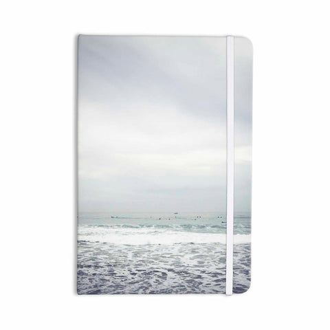 "Mary Carol Fitzgerald ""Dawn Patrol California"" Gray Blue Photography Everything Notebook - Outlet Item"