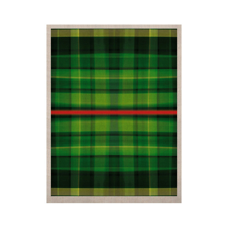 "Matthias Hennig ""Tartan"" KESS Naturals Canvas (Frame not Included) - KESS InHouse  - 1"