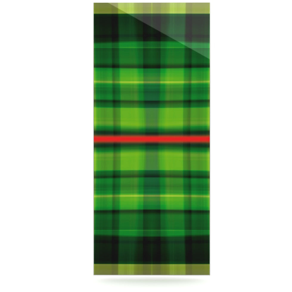 "Matthias Hennig ""Tartan"" Luxe Rectangle Panel - KESS InHouse  - 1"