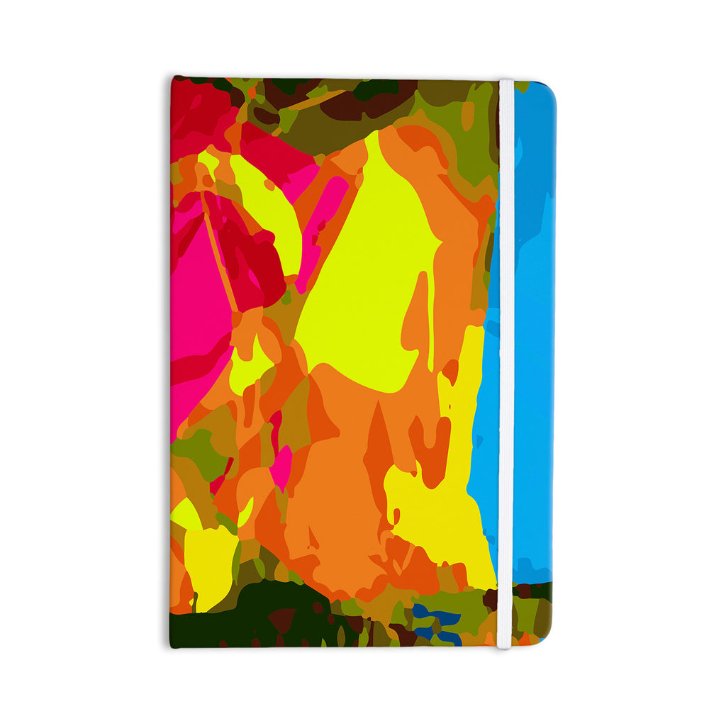 "Matthias Hennig ""Colored Plastic"" Everything Notebook - KESS InHouse  - 1"