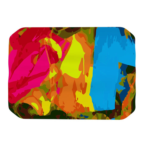 "Matthias Hennig ""Colored Plastic"" Place Mat - KESS InHouse"