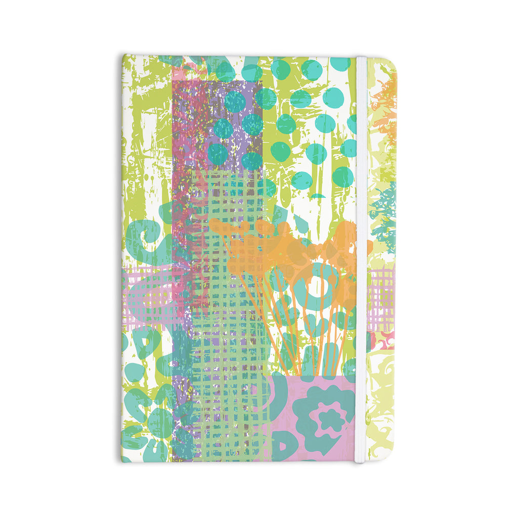"Chickaprint ""Dazed"" Pastel Splatter Everything Notebook - KESS InHouse  - 1"