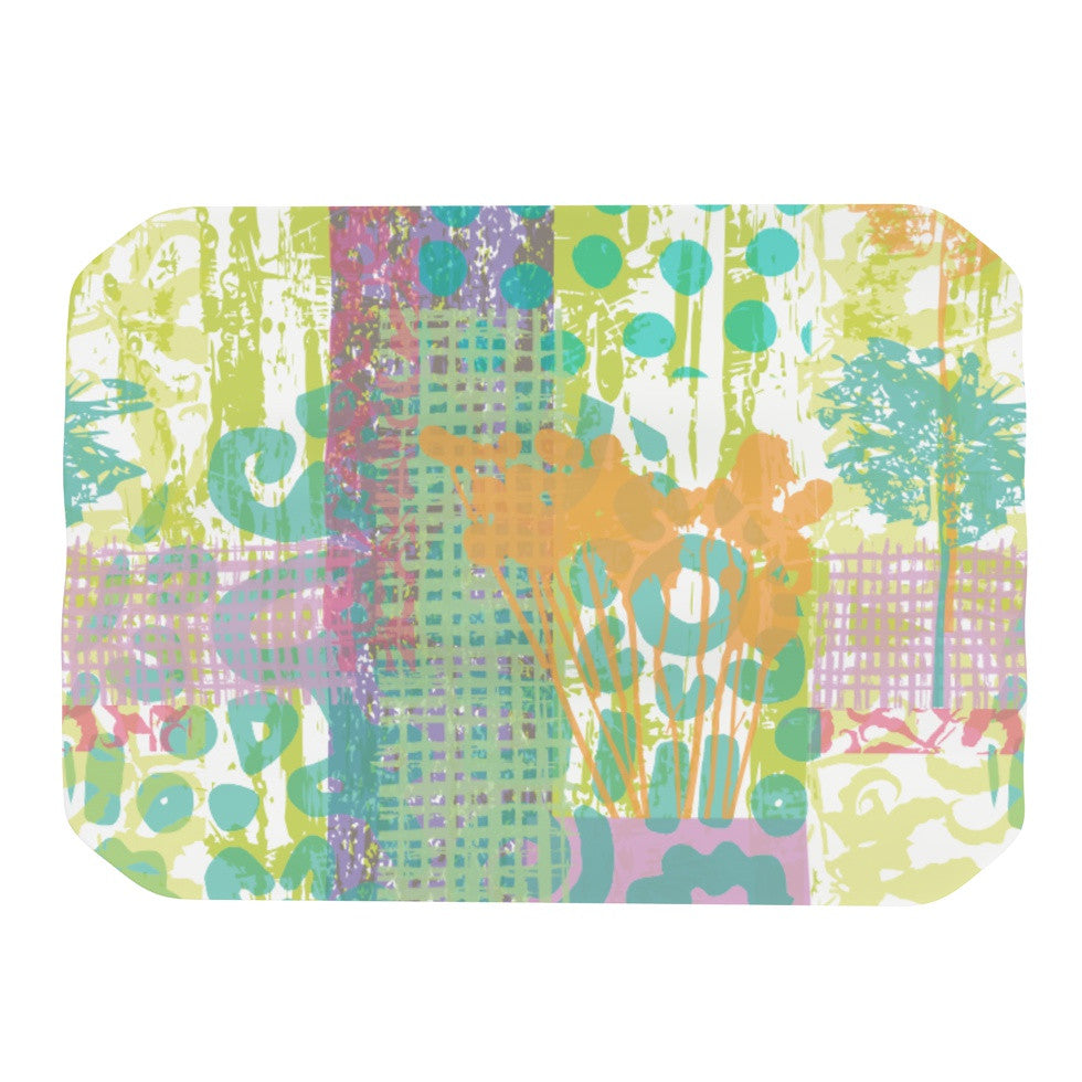 "Chickaprint ""Dazed"" Pastel Splatter Place Mat - KESS InHouse"