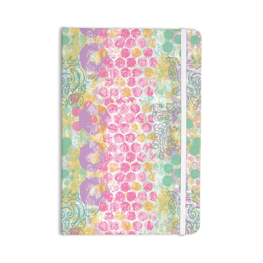 "Chickaprint ""Impression"" Pastel Mix Everything Notebook - KESS InHouse  - 1"