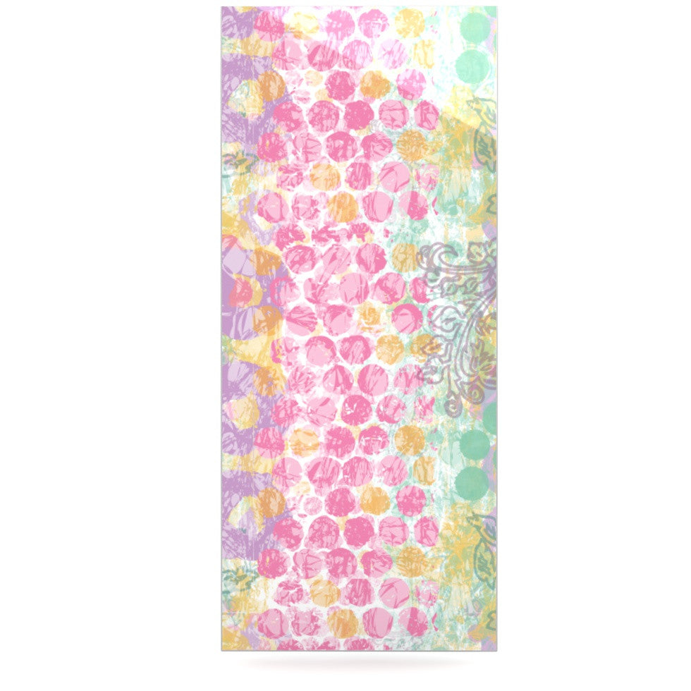 "Chickaprint ""Impression"" Pastel Mix Luxe Rectangle Panel - KESS InHouse  - 1"