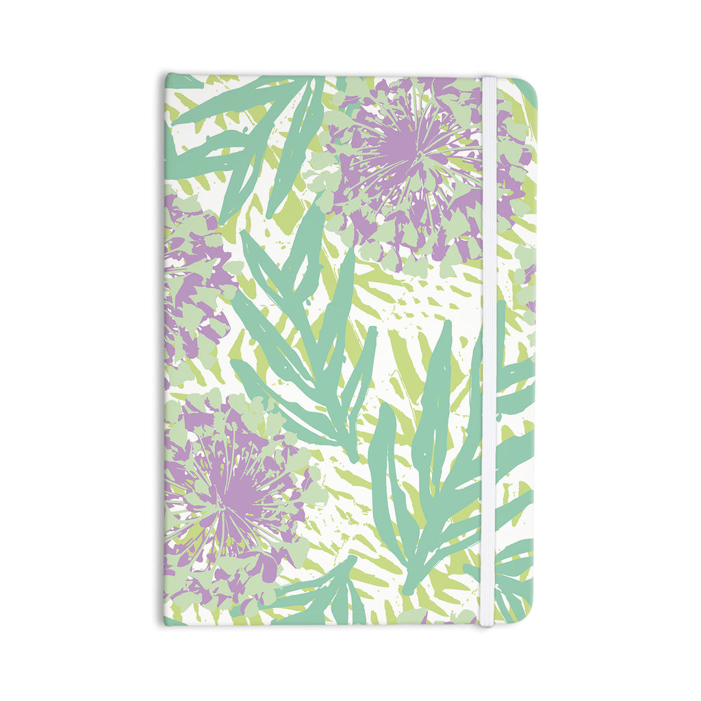 "Chickaprint ""Varen"" Purple Green Everything Notebook - KESS InHouse  - 1"