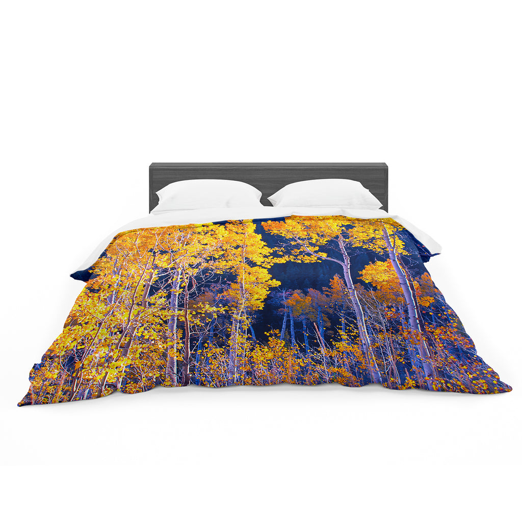 "Maynard Logan ""Trees"" Cotton Duvet"