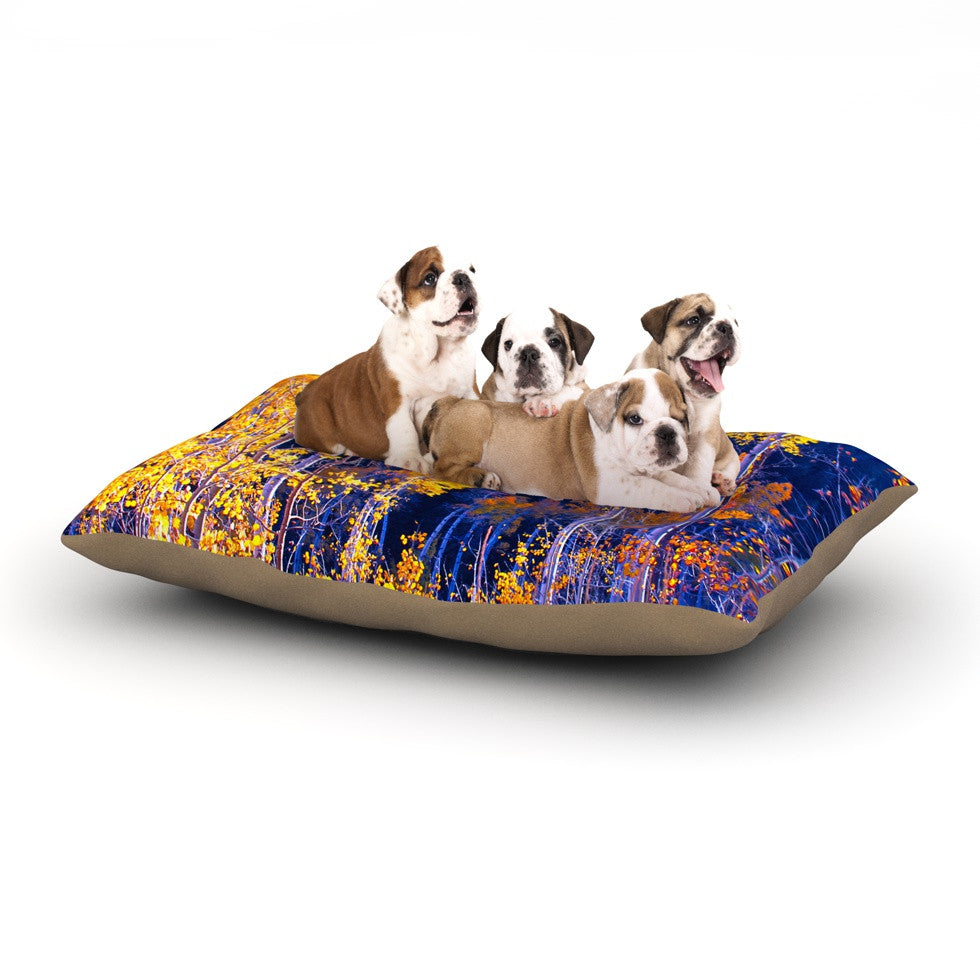 "Maynard Logan ""Trees"" Dog Bed - KESS InHouse  - 1"