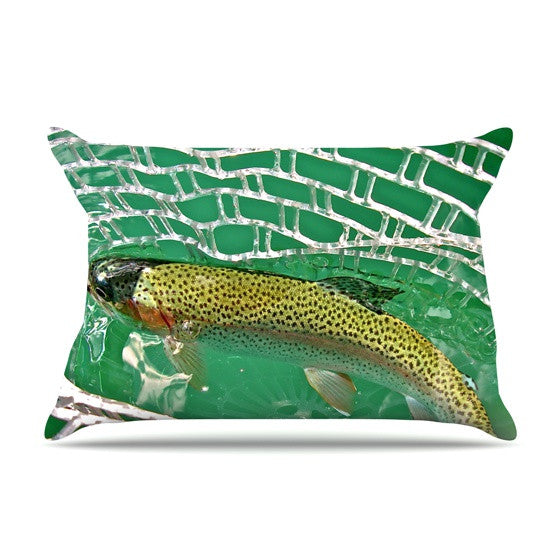 "Maynard Logan ""Catch"" Pillow Sham - KESS InHouse"