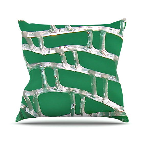 "Maynard Logan ""Catch"" Throw Pillow - KESS InHouse  - 1"