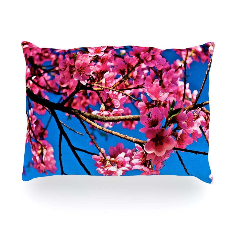 "Maynard Logan ""Flowers"" Oblong Pillow - KESS InHouse"