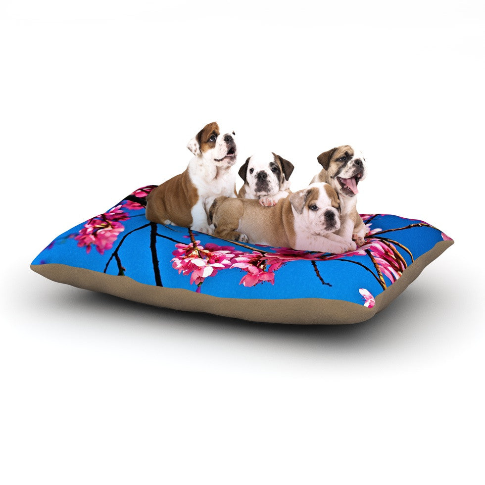"Maynard Logan ""Flowers"" Dog Bed - KESS InHouse  - 1"