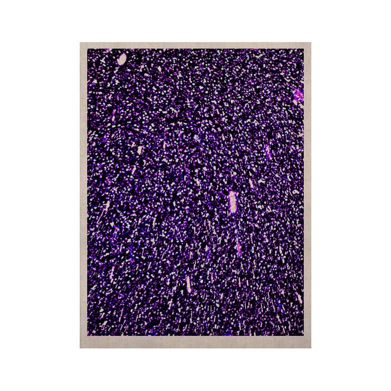 "Maynard Logan ""Purple Dots"" KESS Naturals Canvas (Frame not Included) - KESS InHouse  - 1"