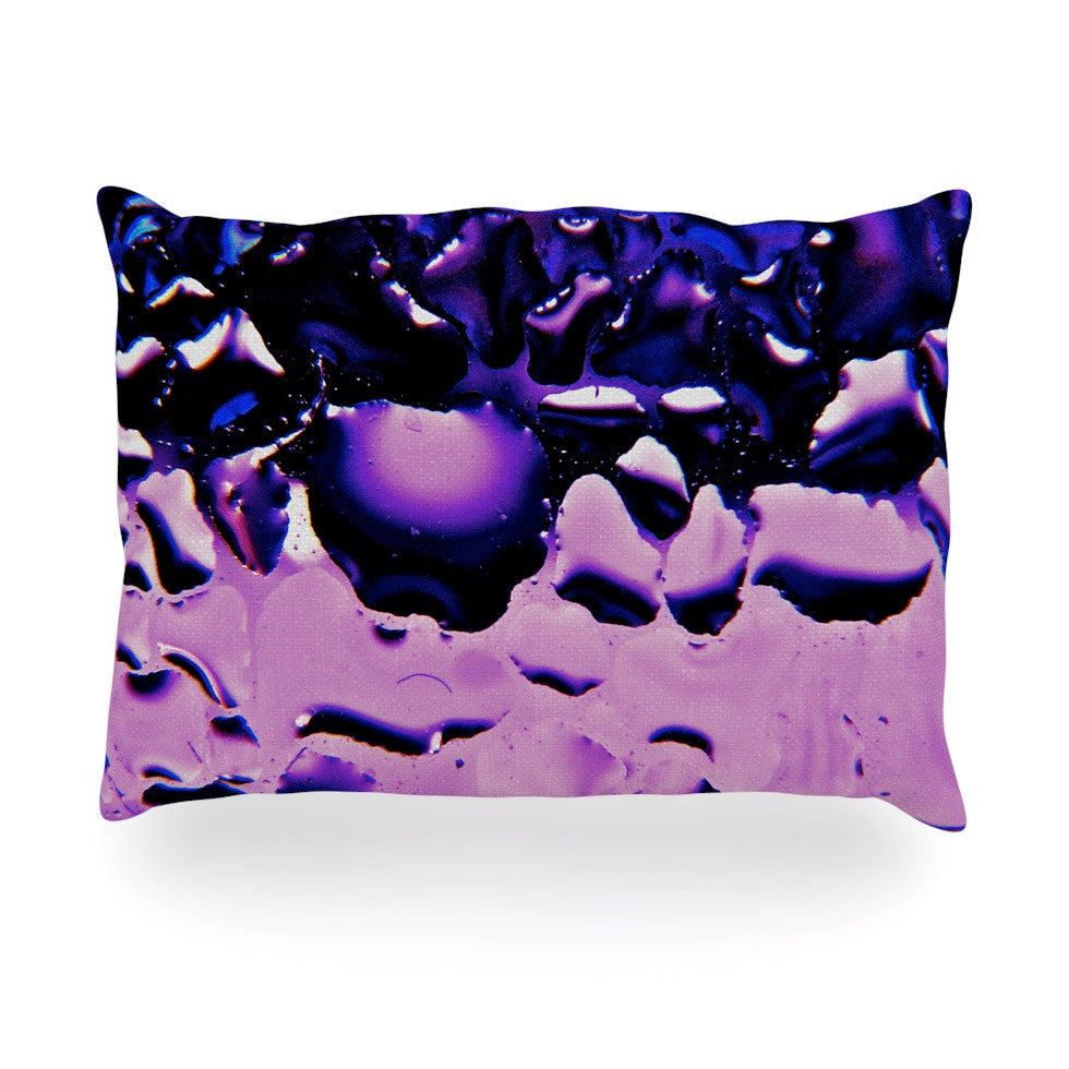 "Maynard Logan ""Window Purple"" Oblong Pillow - KESS InHouse"
