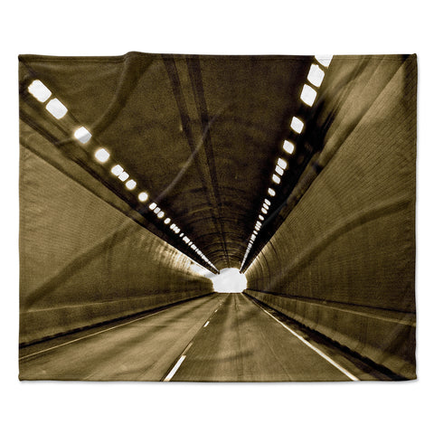 "Maynard Logan ""Tunnel"" Fleece Throw  Blanket"