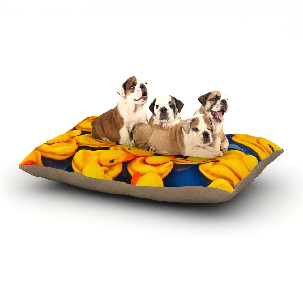 "Maynard Logan ""Duckies"" Dog Bed - KESS InHouse  - 1"