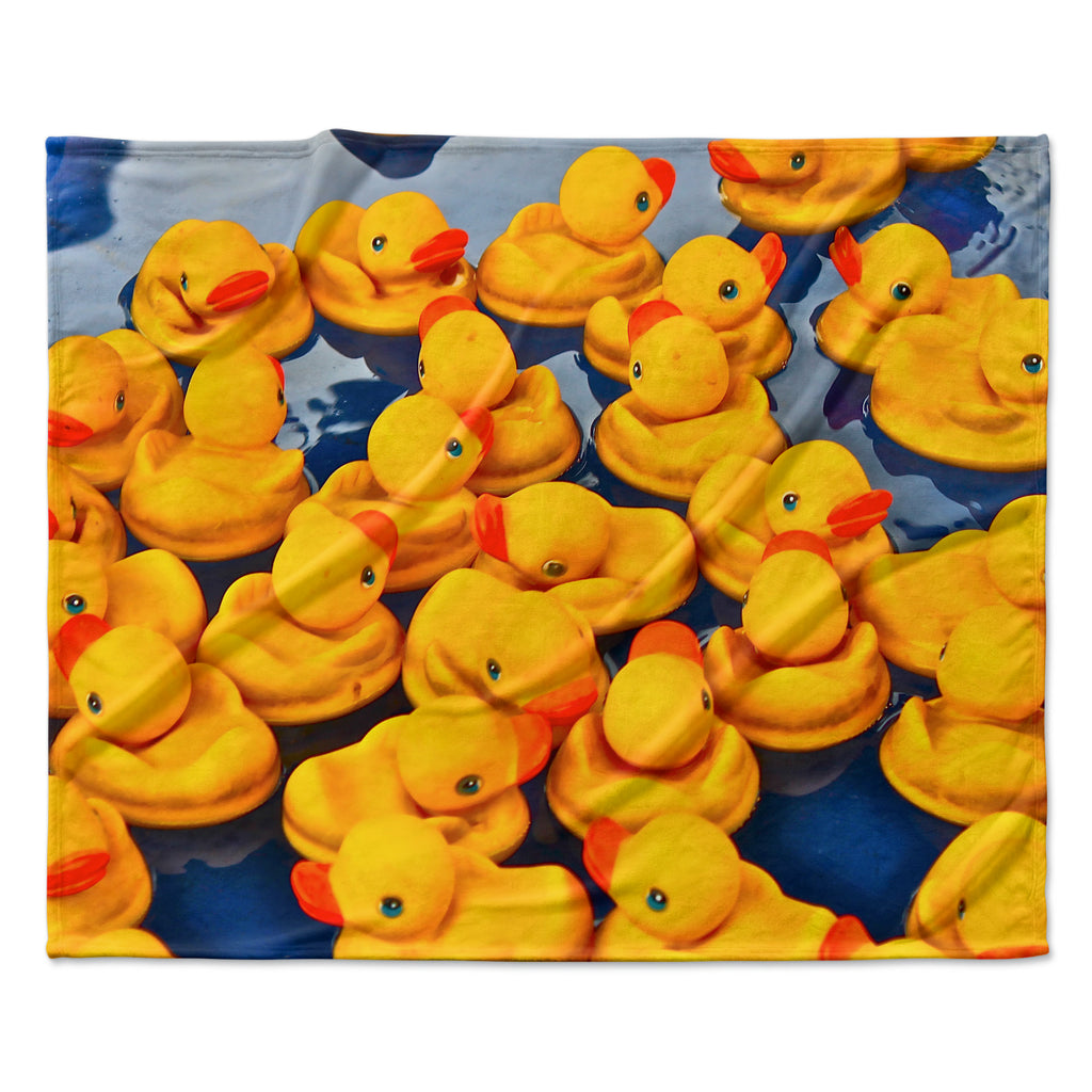 "Maynard Logan ""Duckies"" Fleece Throw Blanket"