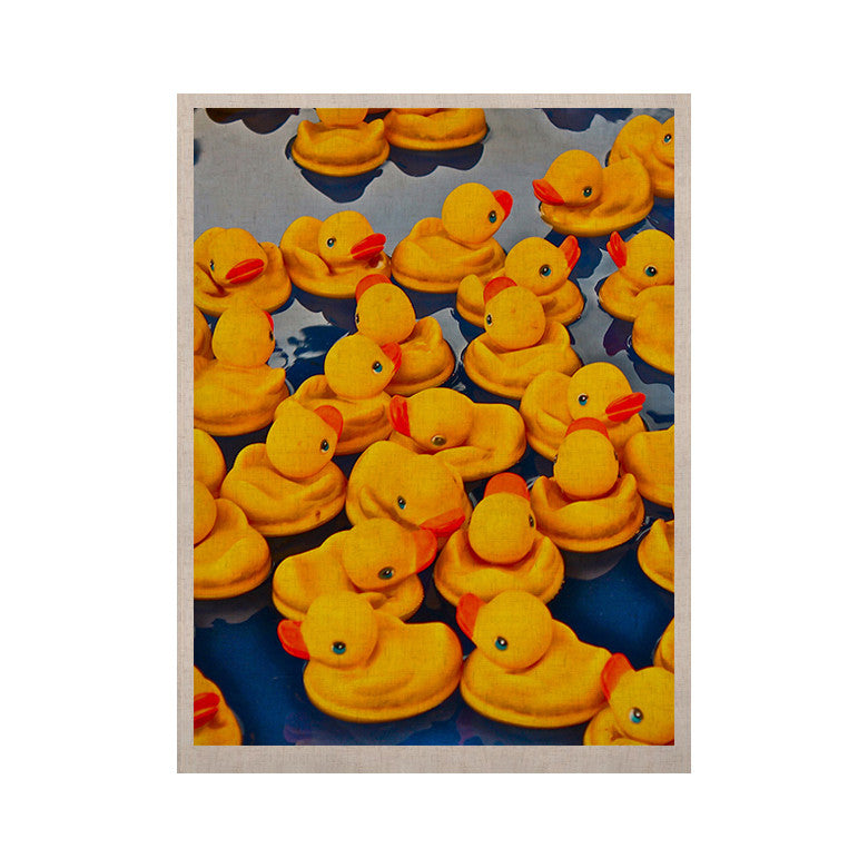 "Maynard Logan ""Duckies"" KESS Naturals Canvas (Frame not Included) - KESS InHouse  - 1"