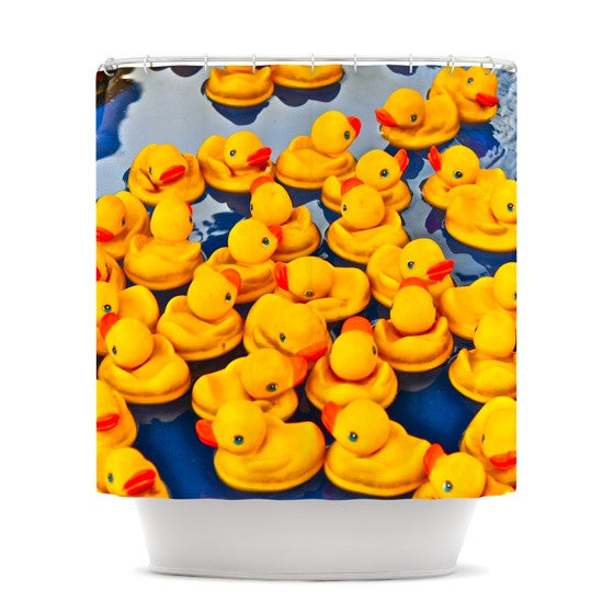 "Maynard Logan ""Duckies"" Shower Curtain - KESS InHouse"