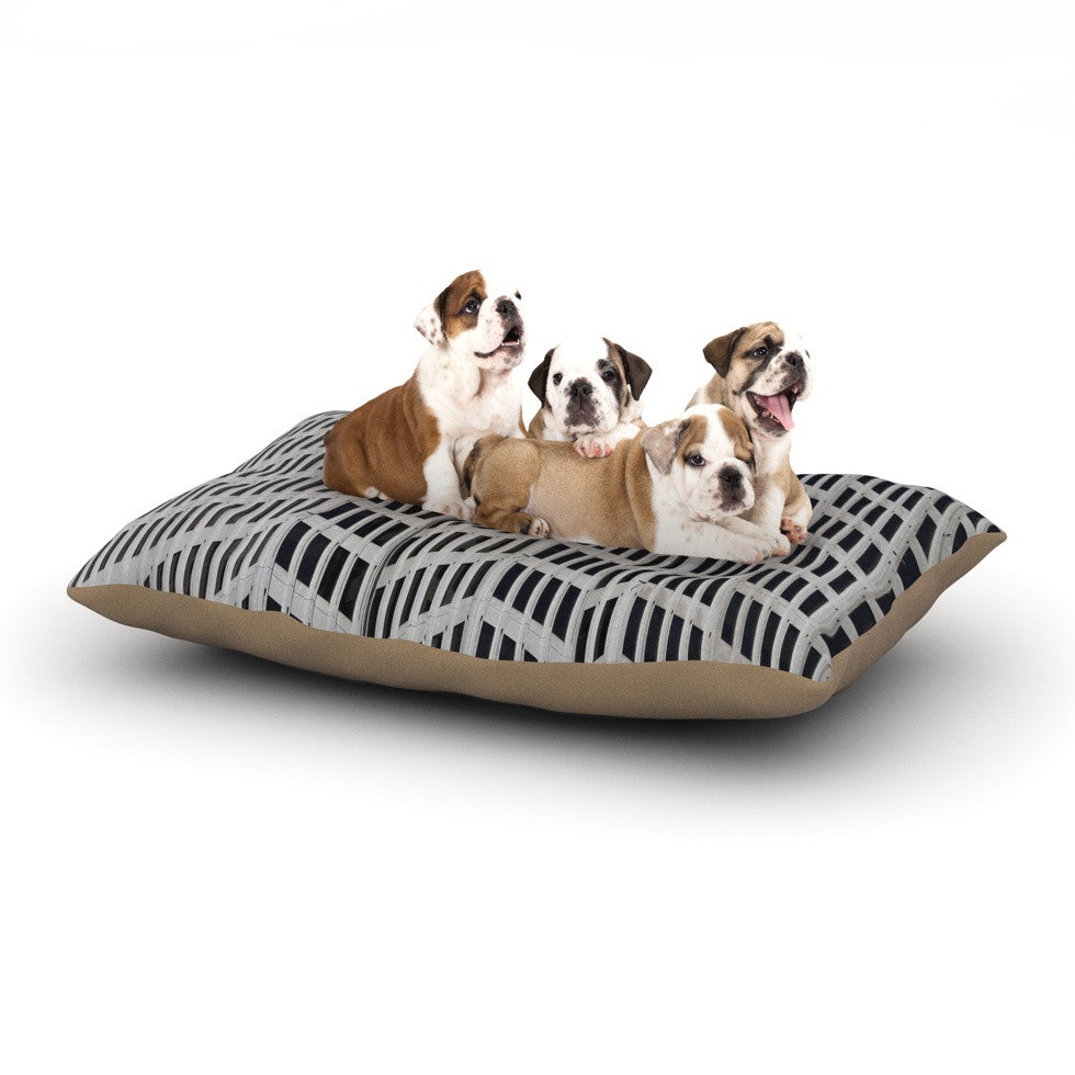 "Maynard Logan ""The Grid"" Dog Bed - KESS InHouse  - 1"