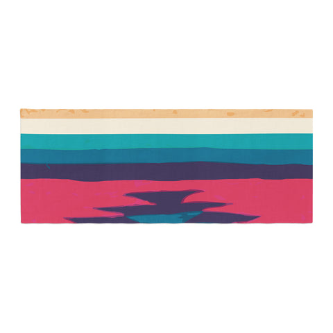 "Nika Martinez ""Surf"" Bed Runner - KESS InHouse"
