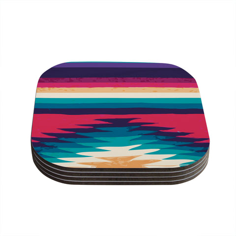 "Nika Martinez ""Surf"" Coasters (Set of 4)"