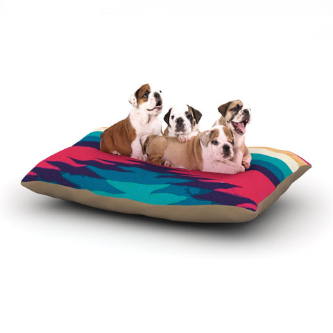 "Nika Martinez ""Surf"" Dog Bed - KESS InHouse  - 1"