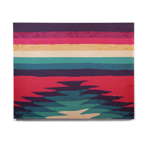 "Nika Martinez ""Surf"" Birchwood Wall Art - KESS InHouse  - 1"