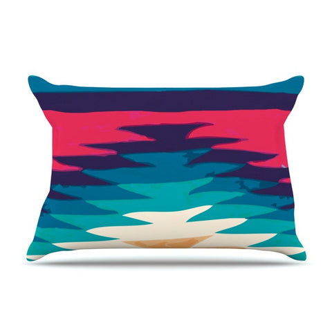 "Nika Martinez ""Surf"" Pillow Sham - KESS InHouse"
