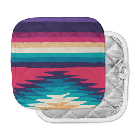 "Nika Martinez ""Surf"" Pot Holder"