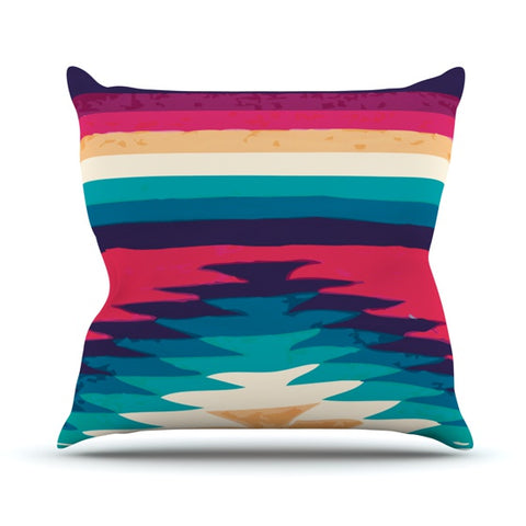 "Nika Martinez ""Surf"" Throw Pillow - KESS InHouse  - 1"