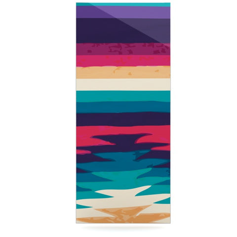 "Nika Martinez ""Surf"" Luxe Rectangle Panel - KESS InHouse  - 1"