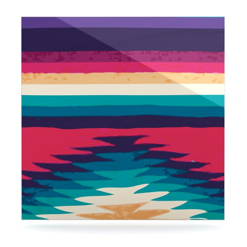 "Nika Martinez ""Surf"" Luxe Square Panel - KESS InHouse  - 1"