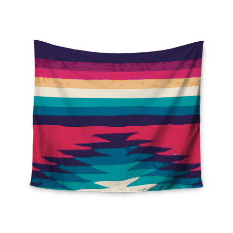 "Nika Martinez ""Surf"" Wall Tapestry - KESS InHouse  - 1"
