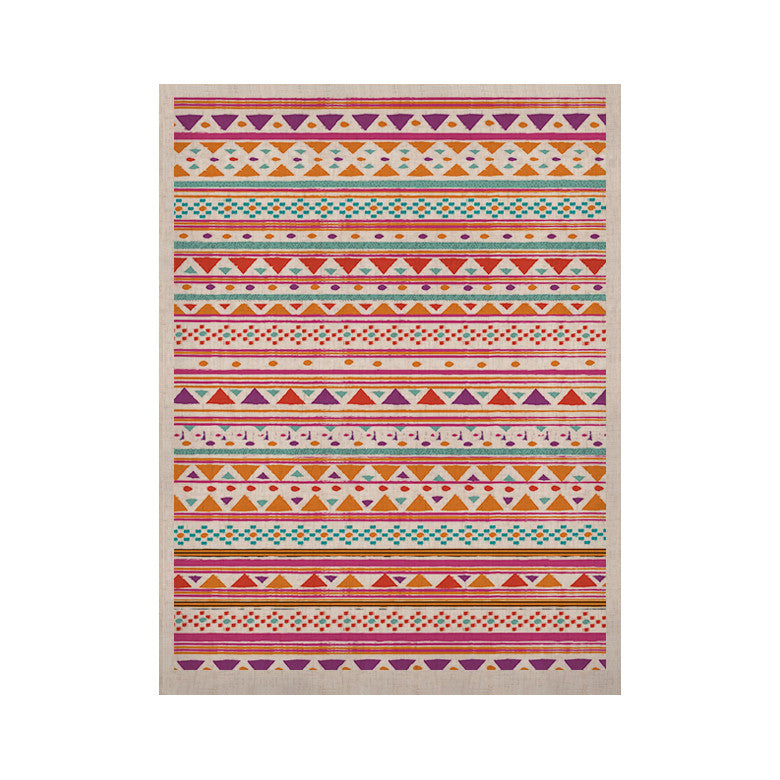 "Nika Martinez ""Native Bandana"" KESS Naturals Canvas (Frame not Included) - KESS InHouse  - 1"