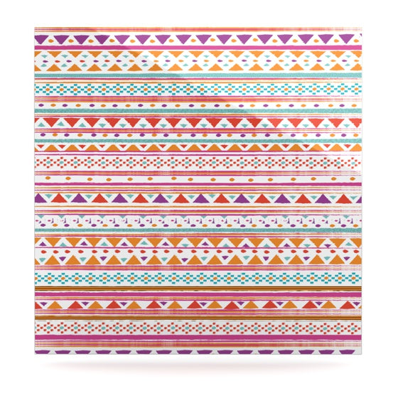 "Nika Martinez ""Native Bandana"" Luxe Square Panel - KESS InHouse  - 1"