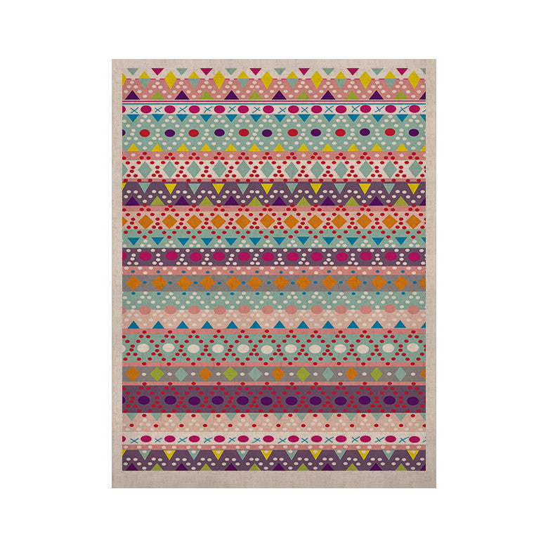 "Nika Martinez ""Ayasha"" KESS Naturals Canvas (Frame not Included) - KESS InHouse  - 1"