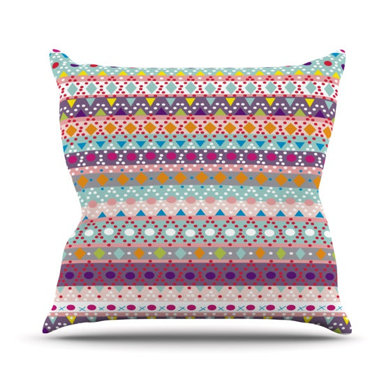 "Nika Martinez ""Ayasha"" Throw Pillow - KESS InHouse  - 1"