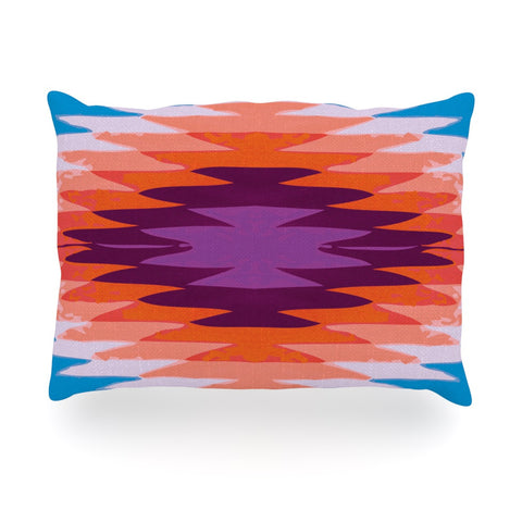 "Nika Martinez ""Surf Lovin Hawaii"" Oblong Pillow - KESS InHouse"