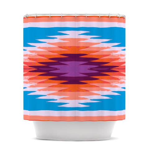 "Nika Martinez ""Surf Lovin Hawaii"" Shower Curtain - KESS InHouse"