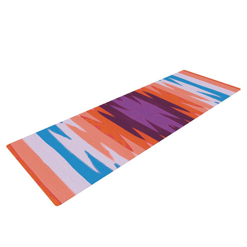 "Nika Martinez ""Surf Lovin Hawaii"" Yoga Mat - KESS InHouse  - 1"