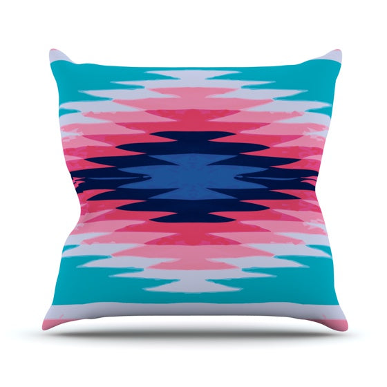 "Nika Martinez ""Surf Lovin II"" Throw Pillow - KESS InHouse  - 1"