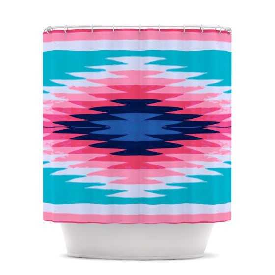 "Nika Martinez ""Surf Lovin II"" Shower Curtain - KESS InHouse"