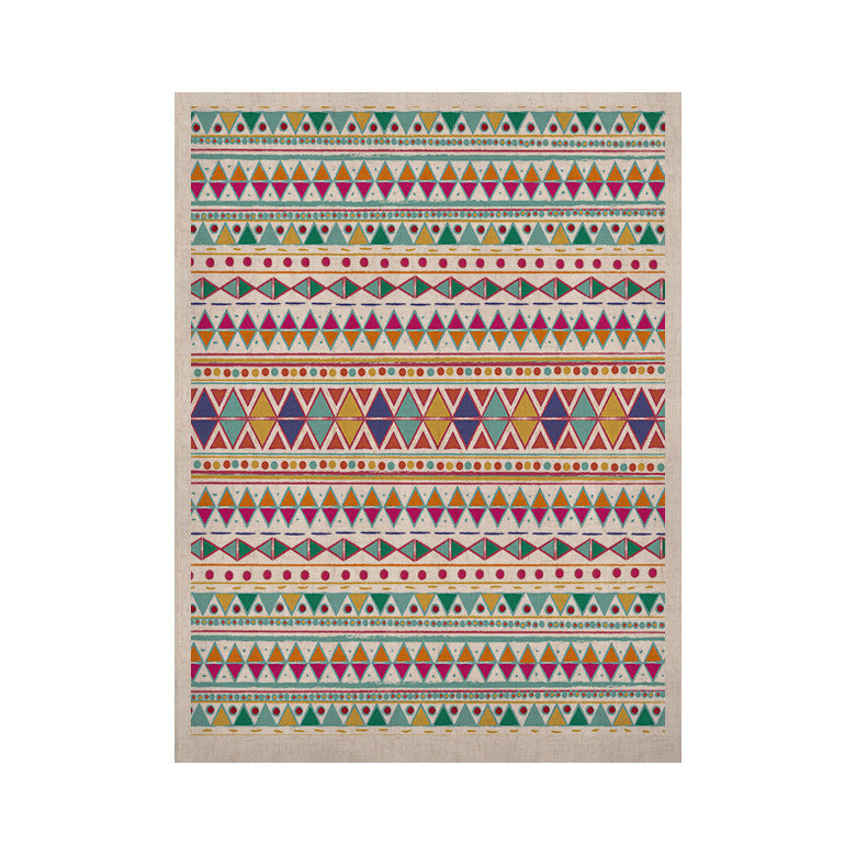 "Nika Martinez ""Native Fiesta"" KESS Naturals Canvas (Frame not Included) - KESS InHouse  - 1"