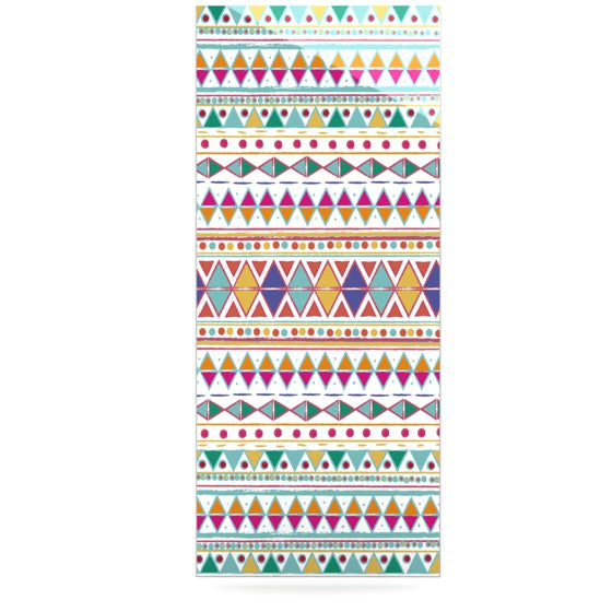 "Nika Martinez ""Native Fiesta"" Luxe Rectangle Panel - KESS InHouse  - 1"