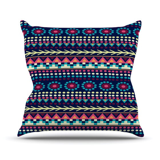 "Nika Martinez ""Aiyana"" Outdoor Throw Pillow - KESS InHouse  - 1"