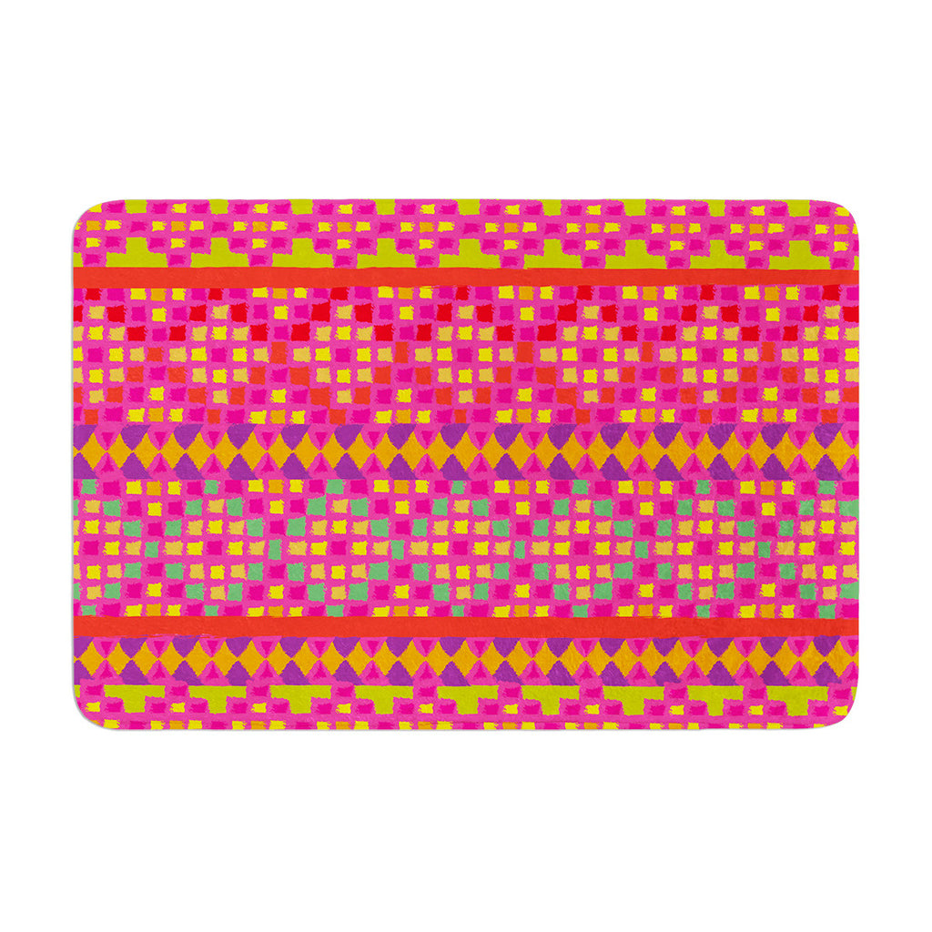"Nika Martinez ""Mexicalli"" Memory Foam Bath Mat - KESS InHouse"